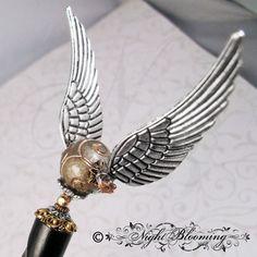 Golden Snitch Harry Potter Hair Stick by NightBlooming on Etsy, $48.00