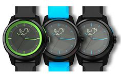 The cookoo-watch keeps you in touch with your smartphone