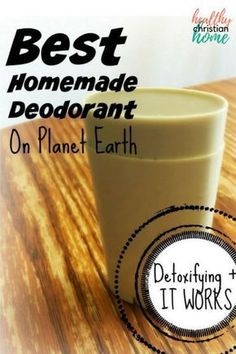 Homemade deodorant that actually works can be difficult to create. This is the best natural DIY deodorant ever! This non-toxic deodorant is great for your skin. The all natural deodorant recipe includes ingredients like softening coconut oil, detoxifying bentonite clay, and nourishing essential oils.