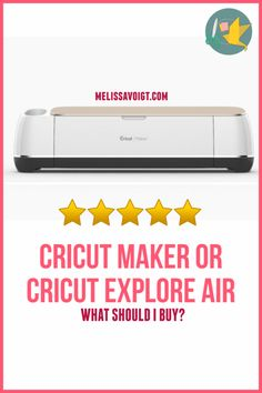 Learn about what Cricut machine to buy. Should you buy a Cricut Maker or a Cricut Explore Air We breakdown all the things you need to know before you buy! Cricut Mat, Industrial Farmhouse, Vintage Industrial, Industrial Style, Leather Sheets, Cricut Explore Air, Cricut Tutorials, Leather Pieces, Mystery Books