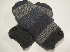 Marlette Wool Mittens  sm/med  MMC496 by MichMittensbyLauri, $23.00