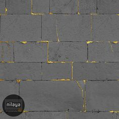 Abstract and atmospheric, dramatic patterns with metallic highlights from our Nilaya Signatures II Collection are perfect as a feature wall.