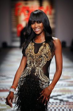 Fancy TV: Naomi Campbell proves herself that she still the g...
