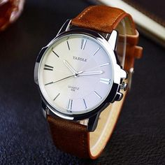 Business Wrist Watch Men Watches Famous Brand Classic Fashion Wristwatch New Male Quartz Watch For Men Clock Hours Hodinky Man Sport Watches, Cool Watches, Cheap Watches For Men, Luxor, Style Streetwear, Timex Watches, Men's Watches, Breitling Watches, Men With Street Style