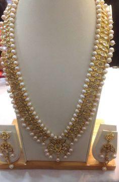 Hyderabadi Jewelry I Love Jewelry, Pearl Jewelry, Wedding Jewelry, Jewelery, Jewelry Design, Gold Jewelry, Hyderabadi Jewelry, Pakistani Jewelry, India Jewelry