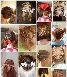 Die schönsten Frisuren für Mädchen  Foto-Ideen und Tipps für Mütter 5506e6826