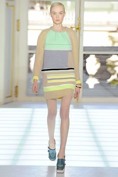 Balenciaga Fall 2010 Ready-to-Wear Fashion Show - Siri Tollerød