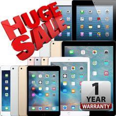 iPad | Airmini234Pro | WiFi Tablet | 16GB 32GB 64GB 128GB 256GB | Warranty