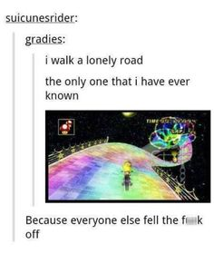 A Little More Green (Day) on This Rainbow Road #MarioKart