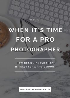 Let's talk about your Etsy products for a minute. Are you constantly taking photos you're not sure of, or are you spending all your time on photography? It may be time to invest in a professional photographer. Click to find out more.