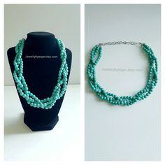 Hey, I found this really awesome Etsy listing at https://www.etsy.com/listing/266427589/bridal-turquoise-statement-necklace