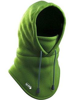 Balaclava Fleece Hood - Windproof Ski Mask - Heavyweight Cold Weather Winter Motorcycle, Ski & Snowboard Gear - Ultimate Protection from the Elements Best Winter Hats, Winter Hats For Women, Winter Wear, Snowboarding Gear, Ski And Snowboard, Tactical Training, Full Face Mask, Balaclava, Cold Weather