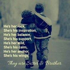 Best Brother Quotes And Sibling Sayings - BoostuplivingYou can find Brother sister quotes and more on our website.Best Brother Quotes And Sibling Sayings - Boostupliving Love My Brother Quotes, Brother Sister Love Quotes, Brother And Sister Relationship, Sister Quotes Funny, Brother And Sister Love, Quotes About Sisters Love, Quotes About Brothers, Miss My Family Quotes, Sister Bond Quotes
