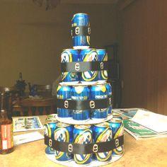 My birthday cake ★ Miller Lite Cake My Birthday Cake, 21st Birthday, Girl Birthday, Miller Lite Cake, Diaper Parties, Baby Presents, My Funny Valentine, Let Them Eat Cake, Amazing Cakes