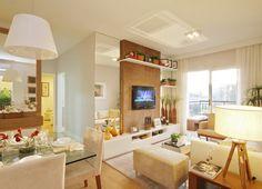 Construindo Minha Casa Clean: Consultoria de decoração: salas pequenas com amarelo do apê da leitora!