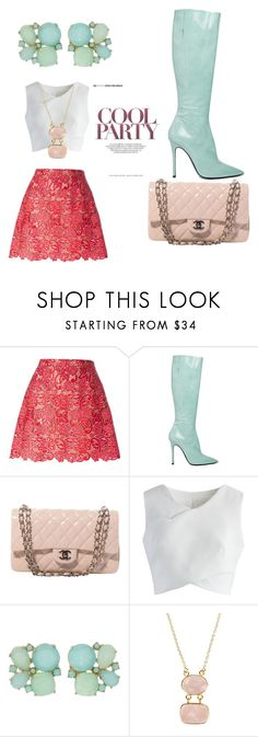 """""""Untitled #2"""" by massimo-ra-cucinotta ❤ liked on Polyvore featuring Marco de Vincenzo, Yang Li, Chanel, Chicwish, Kate Spade and First People First"""