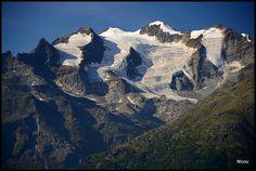 Chaîne des Mischabel - Gspon, Valais.