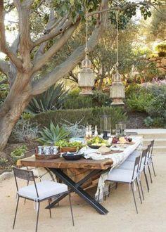 Draußen Essen – DECO HOME Damit Ihr Openair-Dinner auch style-technisch punkten kann, kommen hier ein paar Ideen, Möbel und Accessoires die zum Draußen essen einladen! #Garten #Outdoor #Interior #Living #Lifestyle #Summer