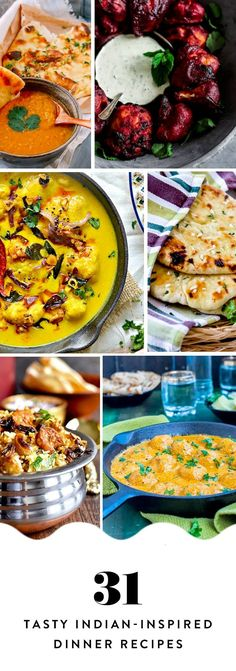If you're in a dinner rut, it's time to expand your horizons. Presenting 31 Indian-inspired dinner ideas to try. Pass the naan. Dinner Party Menu, Dinner Party Recipes, Dinner Ideas, Indian Food Recipes, Asian Recipes, Curry Recipes, Vegetarian Recipes, Comida India, Indian Cookbook