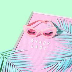 Shady Lady // Violet Tinder Studios