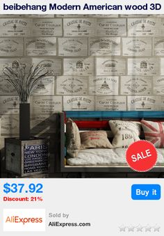 beibehang Modern American wood 3D wallpaper old wooden industrial restaurant store winery wall papers home decor papel contact * Pub Date: 01:24 Aug 12 2017