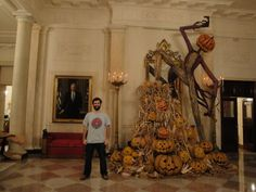 pumpkins in the White House
