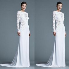Lace Applique Mother Of The Bride Dresses Long Sleeve Jewel Neck Mother'S Evening Dress Floor Length Custom Made Prom Gowns Mother Of The Bride Designer Dresses Mother Of The Bride Dress And Jacket From Manweisi, $148.64| Dhgate.Com