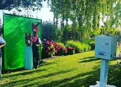Green Screen #mnmphotobooths #outdoor #wedding