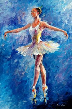 Leonid Afremov (b.1955) Bravo, 2010, oil on canvas. Leonid Afremov was born in city of Vitebsk (Belarus), amazingly enough in the same town as Marc Chagall who founded the Vitebsk Art School along...