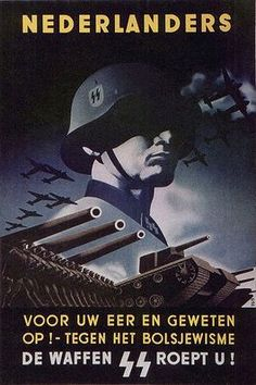 Dutch SS - a surprising number of Dutch joined the Waffen SS