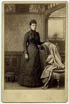 African American woman, studio portrait