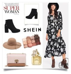 """""""Shein 7/IV"""" by hedija011 ❤ liked on Polyvore featuring Marc Jacobs and tarte"""