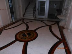 Combination wood and marble