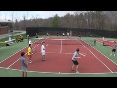 Tennis Drill - Large Groups - Kill it - YouTube