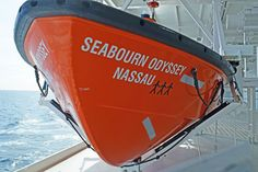 Seabourn Odyssey started to keep a tally of people recued at sea on their rescue boat: how cute is that!