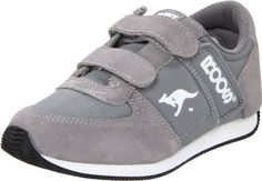 """KangaROOS Combat Retro H,Grey/Silver,7.5 M US Toddler KangaROOS. $46.00. Leather and textile. Boot opening measures approximately 0.0000"""" around. Made in Indonesia. Rubber sole"""