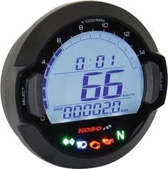 Performs the following functions (unless noted in specific features of each gauge): Speedometer w/top speed record (MPH or Km/H) Odometer w/dual trip meter Tach