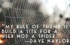 My rule of thumb is build a site for a user not a spider.