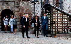 """Foro Hispanico de Opiniones sobre la Realeza: La princesa Marie inauguró la exposición """"Georg Jensen. Una aventura en plata danesa"""""""