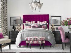 High Rectangular Bed by Bassett Furniture