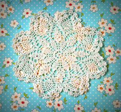 Crochet doilies, I don't use them on padded furniture, instead I use them on wooden furniture to set vases or art works