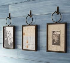 Weston Frame | Pottery Barn- idea for my entryway wall