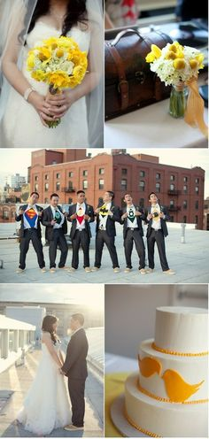 justice league groomsmen