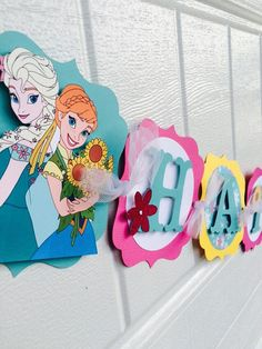 Frozen Fever birthday banner Frozen Fever by karlaspartycreations