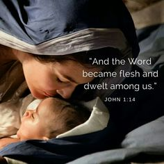 """God's Word - God's Promise, Jesus coming is like God saying, """"Now, you have my Word, I AM come to fulfill the Promises made long ago and I AM forever keeping. Christian Art, Christian Quotes, Bible Scriptures, Bible Quotes, Religion Catolica, Jesus Art, Mary And Jesus, Holy Family, Blessed Mother"""
