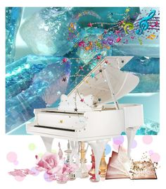 """""""#The White Piano"""" by detroitgurlxx ❤ liked on Polyvore featuring art"""