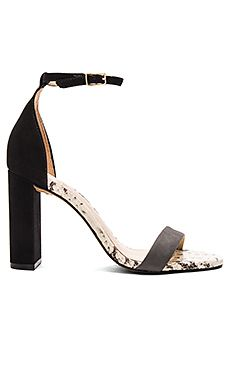 Vince Camuto Mairana Heel in Slate Grey & Black & White