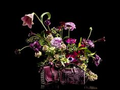 Our flowers do look snappy under these lights – love this shoot for the first bag collection for Dannijo.