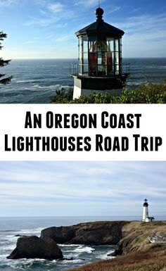 Lighthouses of the Oregon Coast - - Lighthouses have a certain beauty about them. The tall, proud structures staring down at sweeping views of the ocean as their lens lights up the night sky, calls out to me every time. Oregon Coast Roadtrip, Southern Oregon Coast, Oregon Beaches, Oregon Vacation, Oregon Road Trip, Oregon Trail, Road Trips, Portland Oregon, Travel Portland