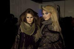 Backstage 080 Barcelona Fashion - colección de Celia Vela para otoño-invierno 2013/14